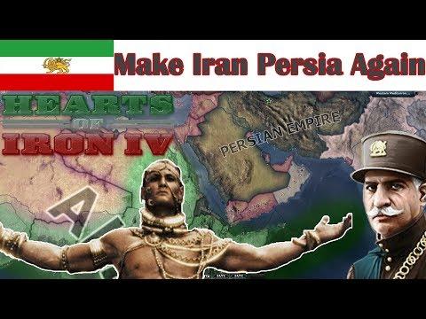 HOI4- MAKE IRAN PERSIA AGAIN!! (in Less Than 11 Minutes)