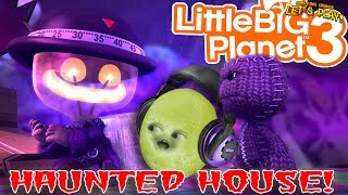 Gaming Grape Plays - Little Big Planet 3: HAUNTED HOUSE!