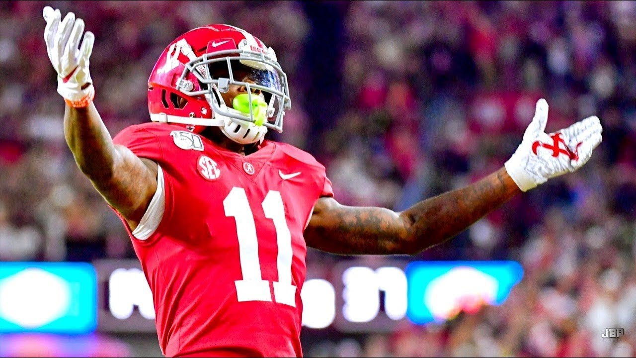 Fastest WR in College Football 🔥🔥🔥 || Alabama WR Henry Ruggs ...