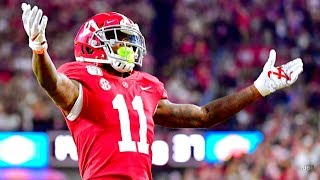 Fastest WR in College Football 🔥🔥🔥 || Alabama WR Henry Ruggs III Highlights ᴴᴰ