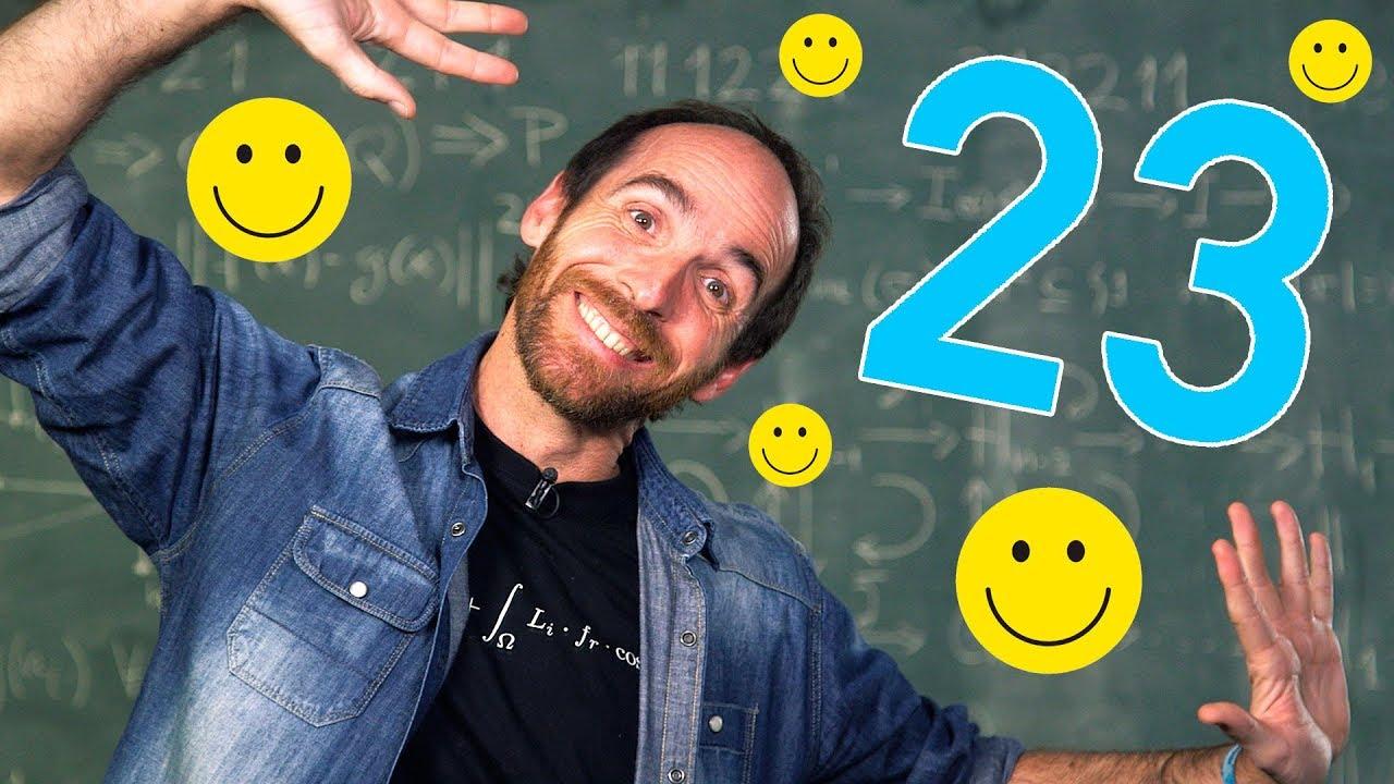 ¡Existen números felices!