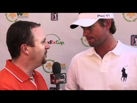 Webb Simpson Interview after Round 1 of 2012 WM Phoenix Open