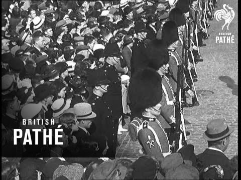 Funeral Of Prince Arthur Of Connaught (1938)
