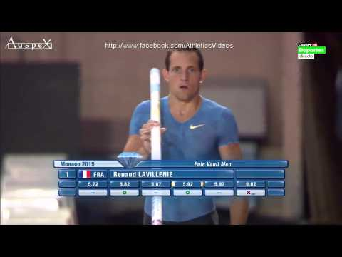 Renaud Lavillenie 5.92 Monaco 2015