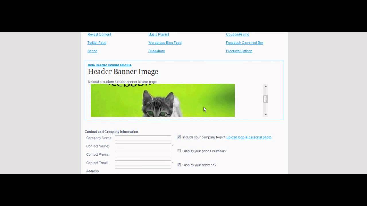 How To Add A Facebook Page Header Banner