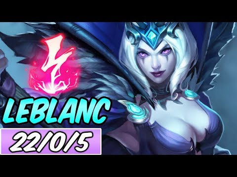 FULL AP BURST LEBLANC MID | Build & Runes | Diamond Ravenborn LeBlanc | League of Legends