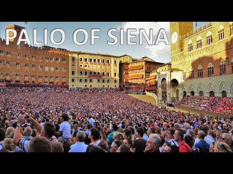 THE PALIO OF SIENA – Italy 🇮🇹 [HD]