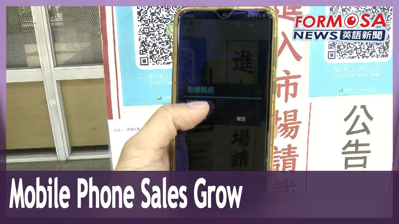 Mobile phone sales grow as Level 3 takes vital activities online