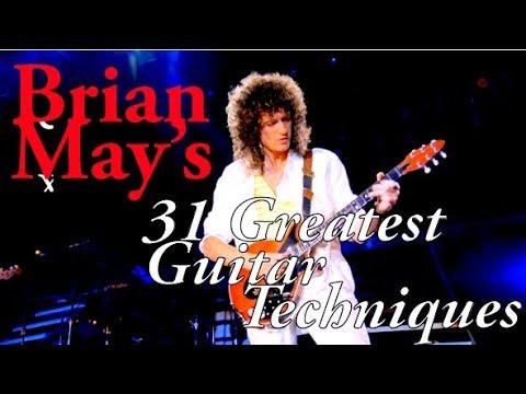 BRIAN MAY's 31 Greatest Guitar Techniques! (plus one bonus technique)