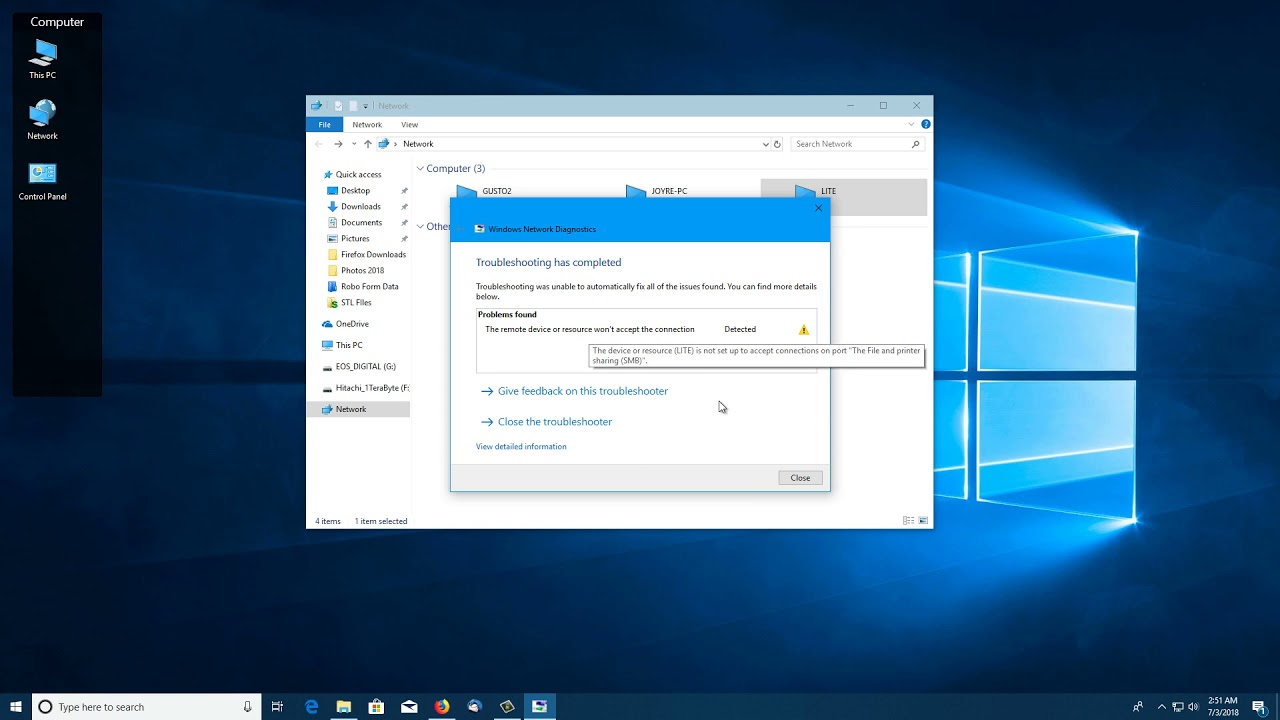 Fix Windows 10 Network Shares cant access linux shares