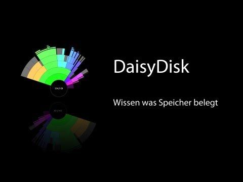 DaisyDisk - Wissen was Speicher am Mac belegt Review inkl. OutTakes