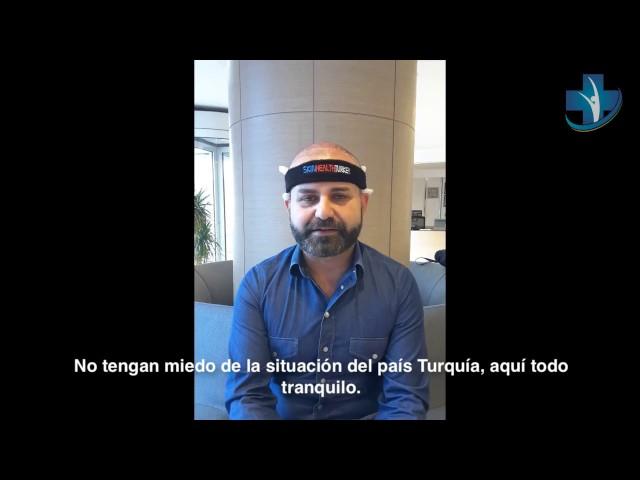 Trasplante Capilar Turquía - Testimonio por Alessandro Zito - Dra. Oyku Celen / Skin Health Turkey