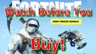 Dont Buy Fortnite Deep Freeze without the facts
