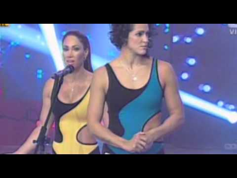 MELISSA LOZA vs JAZMIN PINEDO - RATONERA ACUATICA @ ESTO ES GUERRA 04-06-14 SEXTA TEMPORADA from YouTube · Duration:  1 minutes 11 seconds