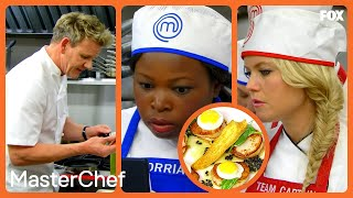 Gordon Ramsay Demonstrates His Famous Scallop Appetizer | Season 7 Ep. 15 | MASTERCHEF thumbnail