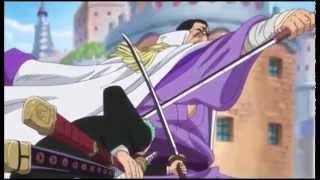 One Piece Zoro Vs Fujitora ( Sub Esp)