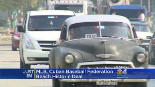 Path Cleared For Cuban Baseball Players To Play In US