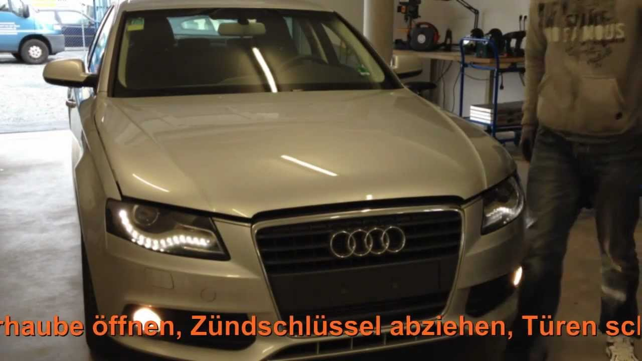 chiptuning einbau audi a4 2 0 tdi 105kw youtube. Black Bedroom Furniture Sets. Home Design Ideas