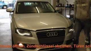 Chiptuning Einbau Audi A4 2,0 TDI 105KW