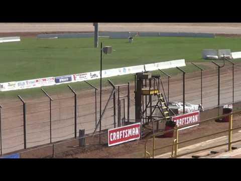 Tanner Wilson Testing at Lernerville Speedway 9-25-16