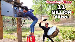 Non-stop Video Best Amazing Comedy Video 2021 Must Watch New Funny Video | Bindas Fun Masti