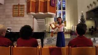 Air on G string of Bach -- Flute and Piano