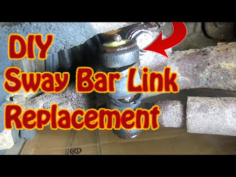 DIY How to Replace Sway Bar Links  Stabilizer Bar Link Replacement  - Front End Replacement Part 1