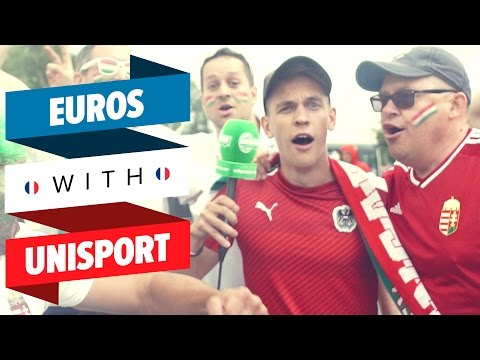INCREDIBLE atmosphere at Austria VS Hungary game - EURO 2016 with Unisport #6