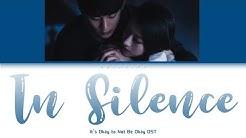 In Silence Lyrics (It's Okay to Not Be Okay OST) || Unofficial Lyrics