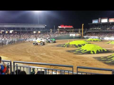 Dookie's first Monster Truck Rally