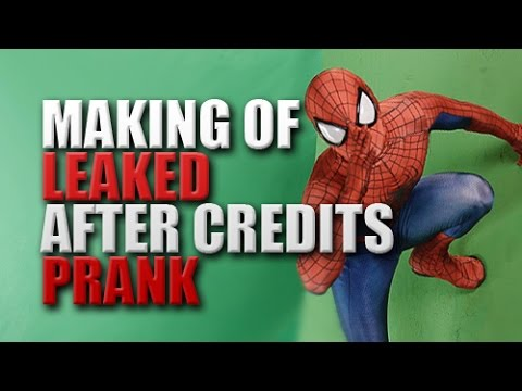 Making of - Avengers Age of Ultron After Credits Prank