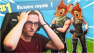 ON RENCONTRE LES PIRES BAMBIS POUR LE TOP 1 SUR FORTNITE ? (FEAT MARTIAL)