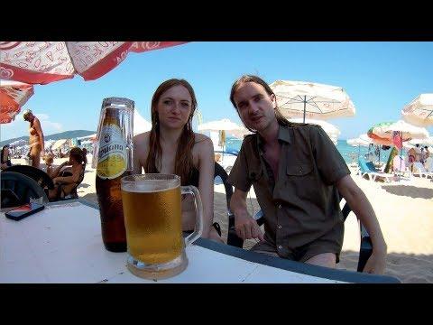 Primorsko - na plaży