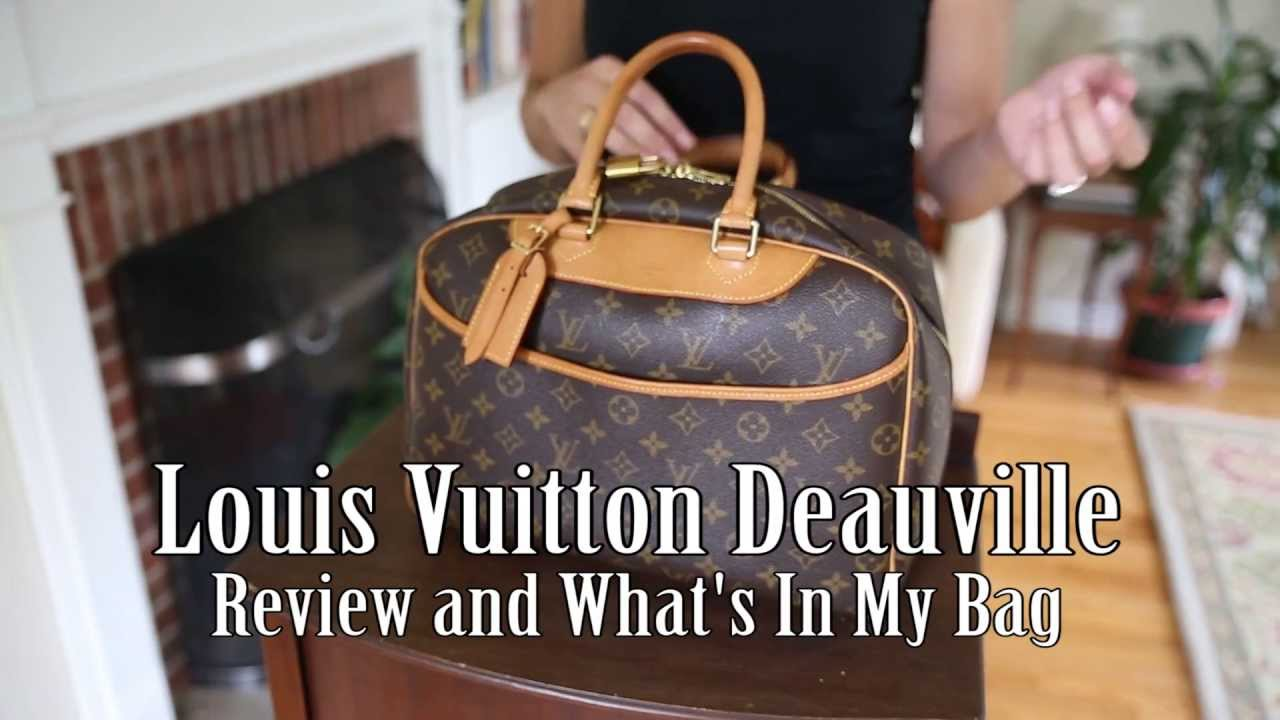 Louis Vuitton Deauville - Review and What s In My Bag - YouTube 1265c784fd892