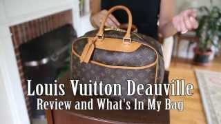 Louis Vuitton Deauville - Review and What's In My Bag Thumbnail
