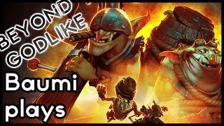 Dota 2 | REMOTE MINE ULTRA KILL!! | Baumi plays Techies