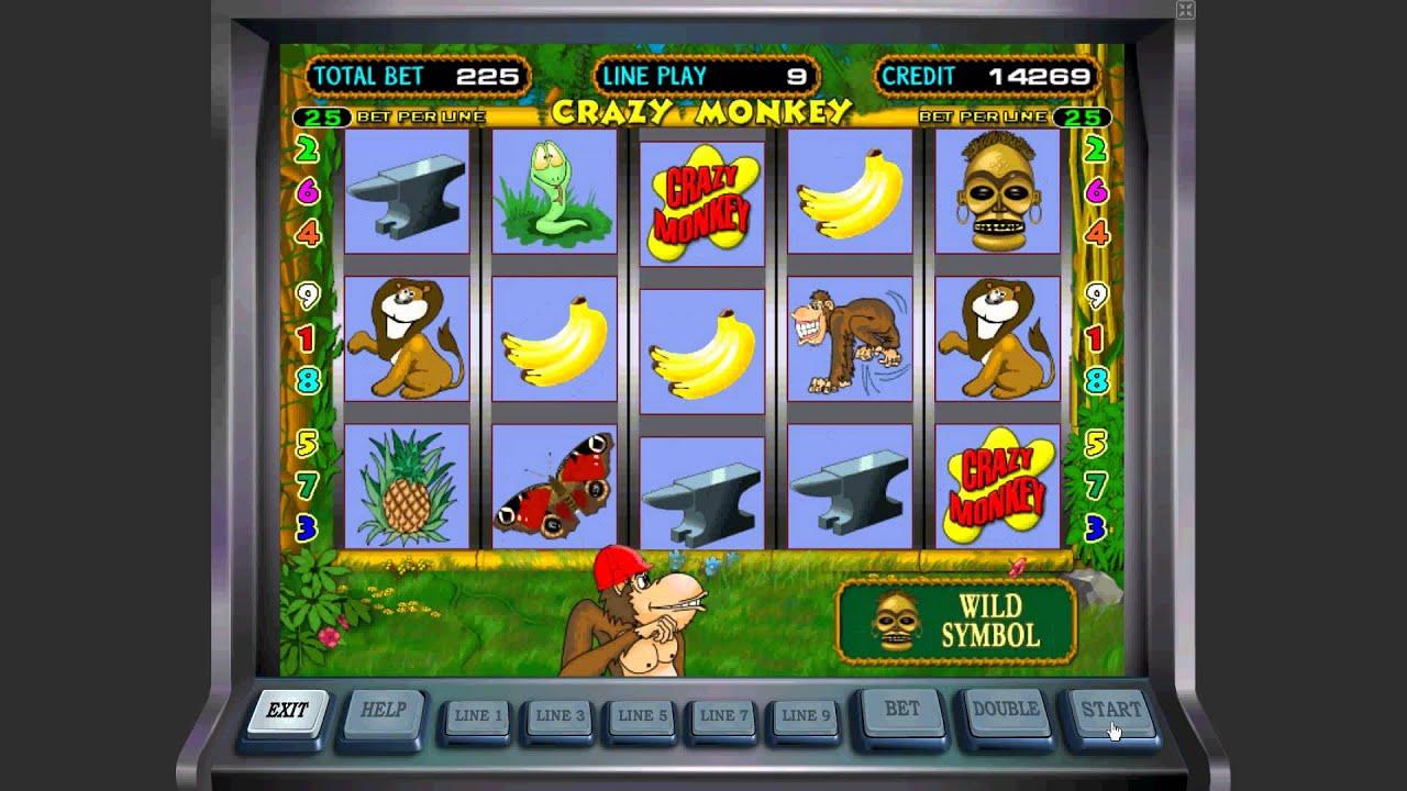 Игровые автоматы играть крези манки проигыши в игровые автоматы