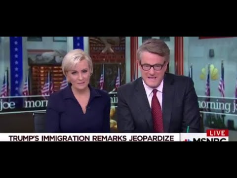 "Morning Joe To Democrats: ""No DACA, No Deal!"""