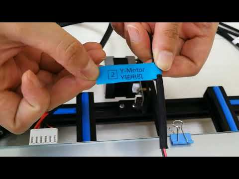ADIMLab gantry new version 3D Printer — Wire Connection - YouTube