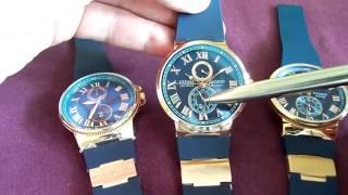 Часы наручные мужские ULYSSE NARDIN(, 2016-01-24T14:55:35.000Z)