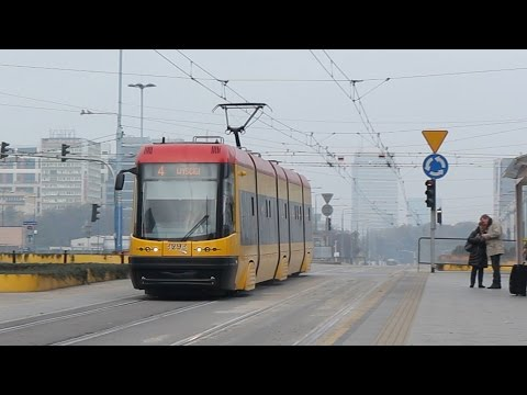 Warsaw Tram - PESA 120Na , Poland