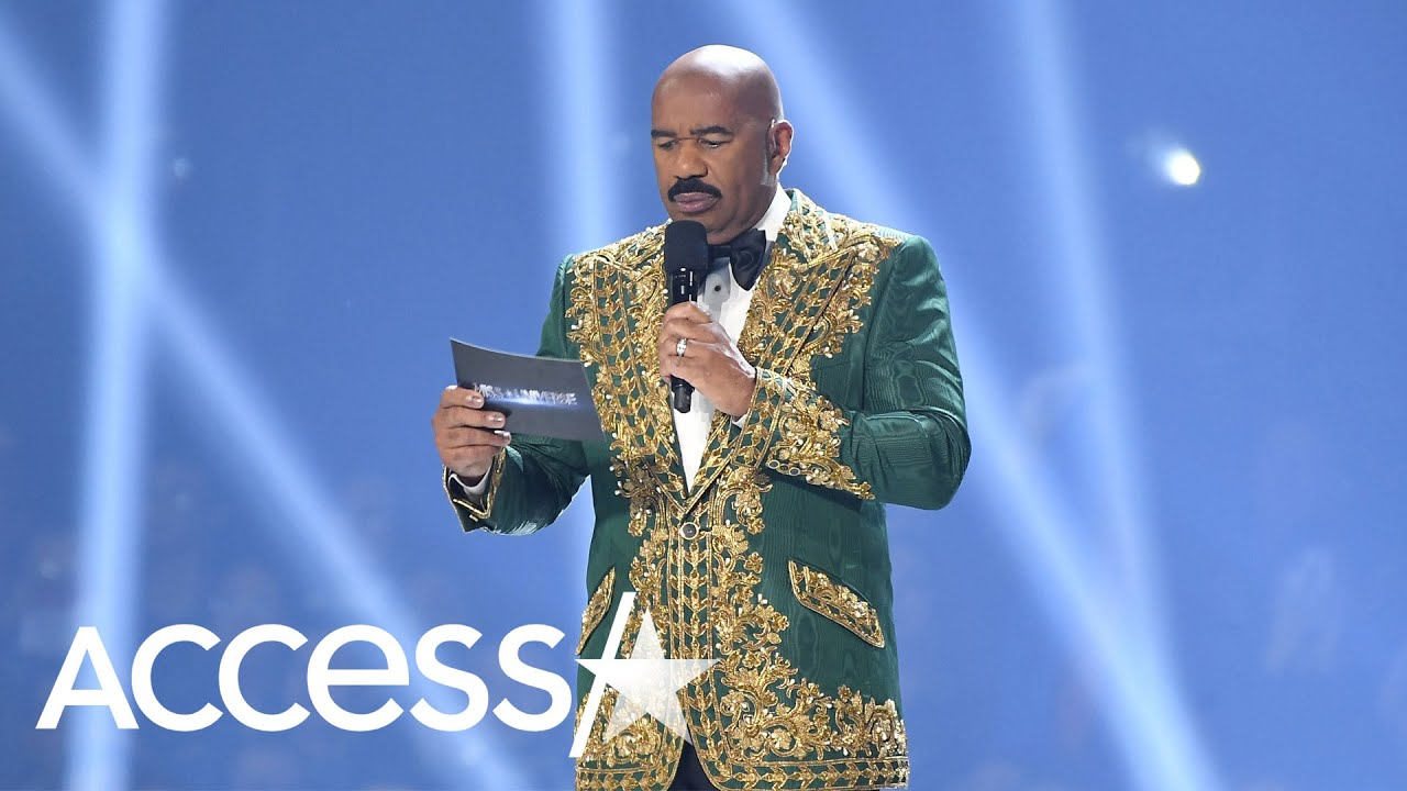 Steve Harvey Suffers Numerous Blunders During 2019 Miss Universe Pageant