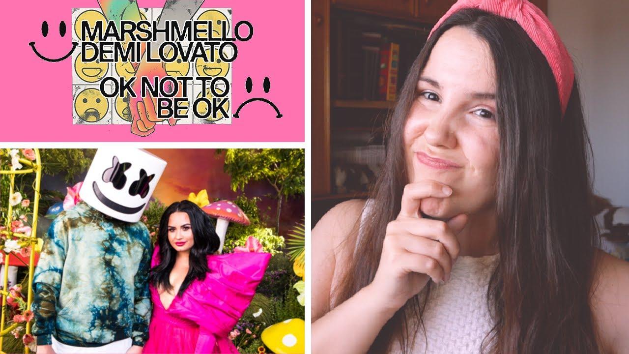 😱 EL DRAMA DE DEMI 💍 REACTION 'OK not to be OK' 😵 Demi & Marshmello 🔥 opinion, analisis y letra