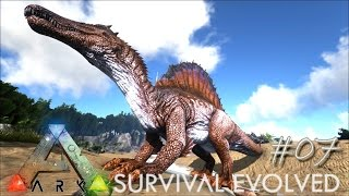 ARK: Survival Evolved Ep 07 - INSANE SPINO TAMING !!! (Server Gameplay)