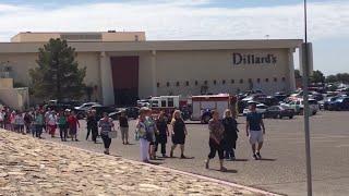 El Paso mall shooting: Dillard's evacuates
