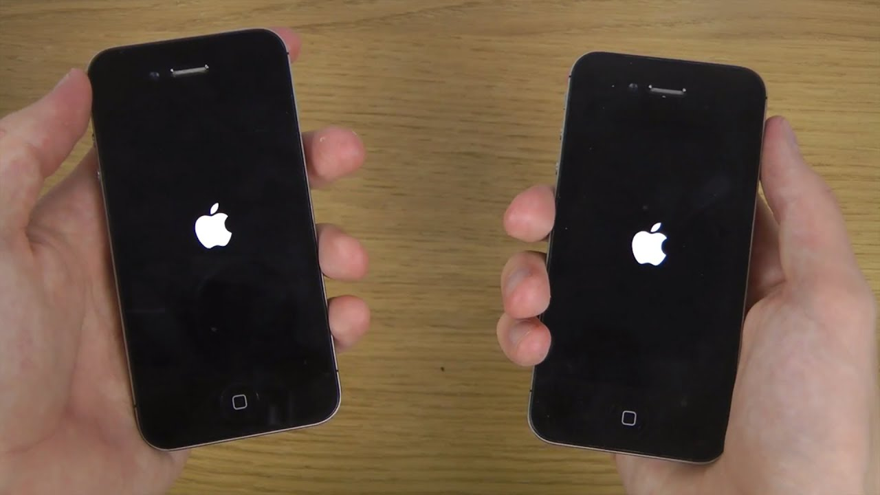 iPhone 4S iOS 8 vs. iPhone 4S iOS 7.1.1 - Which Is Faster ...