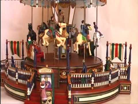boite musique music box man ge carrousel christmas. Black Bedroom Furniture Sets. Home Design Ideas