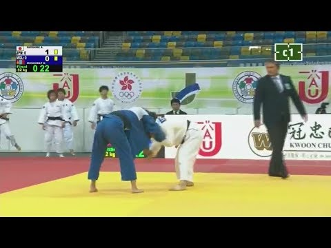 Japan - Mongolia (Women) | Asian Team Judo Championships 2017