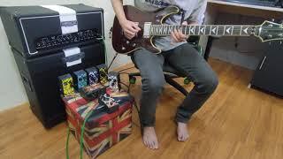 Efek Gitar Distorsi PLus Adaptor Termurah Garansi 1th Distortion