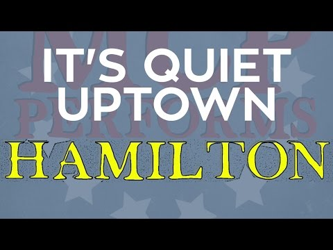 "It's Quiet Uptown - ""Hamilton"" cover by Molotov Cocktail Piano"